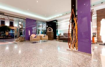 Ingresso Hotel Nuevo Torreluz